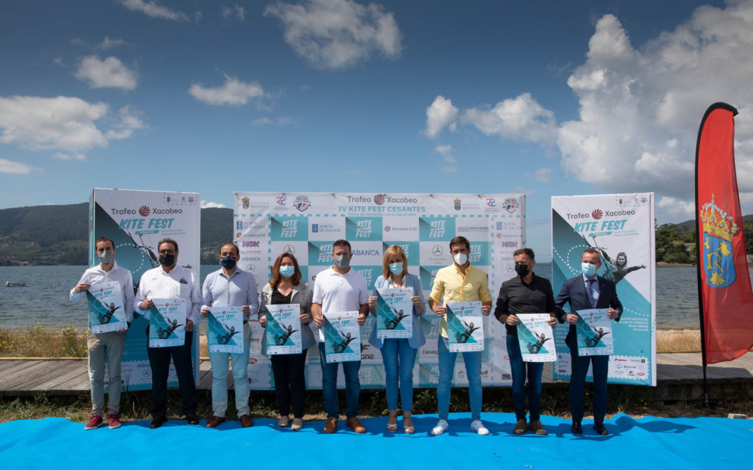 El IV KiteFest Trofeo Xacobeo, a escena este próximo fin de semana en la ensenada de San Simón