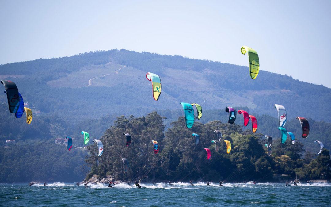 Brillante arranque del KiteFest Cesantes Trofeo Xacobeo