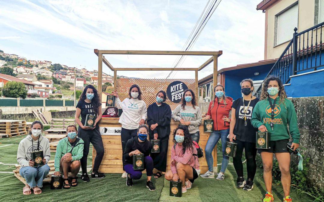 El TMKiteClub apuesta por el deporte femenino con la primera Master Class de kitesurf para mujeres